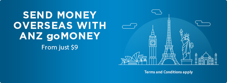 Send Money Overseas With Anz Gomoney