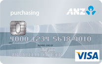 ANZ Visa Purchasing card